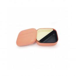 Bamboe lunchbox - Bento - Coral/White/Black