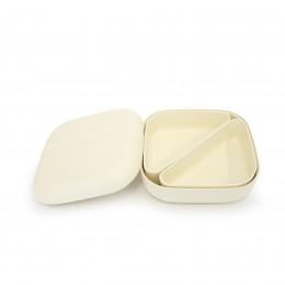 Bamboe lunchbox - Bento - White
