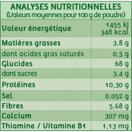 Ma première céréale - Riz et millet - dès 4 mois - 400 g