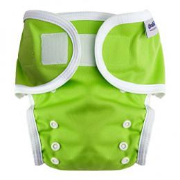 Beschermbroekje voor stoffen luiers - 3,5 tot 20 kg - Set van 2 - Groen