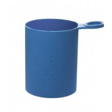 Biberon évolutif en inox - 325 ml - Tétine en silicone - Vert