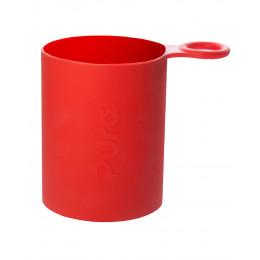 Anti-slipkoker voor Pura Sportflessen - Rood