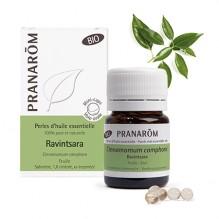 Perles d'huile essentielle BIO - Ravintsara - 60 perles