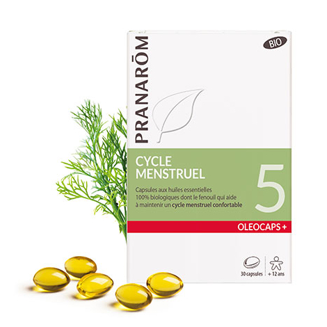 Oleocaps + BIO N°5 - Cycle menstruel - 30 capsules