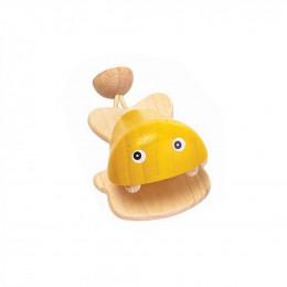 Castagnette vis geel - vanaf 12 maanden