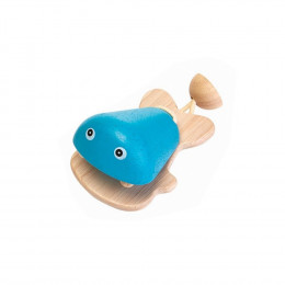 Castagnette vis blauw - vanaf 12 maanden