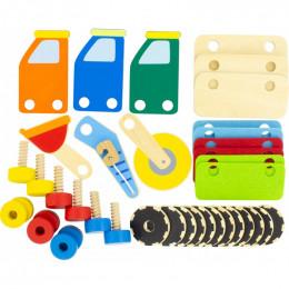 Houten bouwpakket - Bouwplaats - vanaf 18 maanden