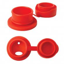 Siliconen sportdop voor Pura roestvrijstalen fles - Rood