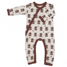 Pyjama - Biologisch katoenen pyjama met sokjes - Eskimo Spice