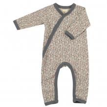 Pyjama - Biologisch katoenen pyjama met sokjes - Leaf pumice