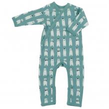 Pyjama - Biologisch katoenen pyjama met sokjes - IJsbeer