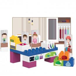 Mode winkel - 28 blokken - vanaf 18 maanden