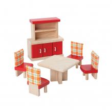 Meubles en bois Neo pour maisons de poupées - Salle à manger - à partir de 3 ans