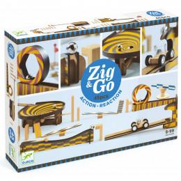 Zig & Go dominoset - 45 stuks