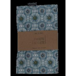 Bulkzak - 25 x 30 cm - Eendenblauw met print