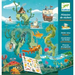 Stickerverhalen - Avonturen op zee