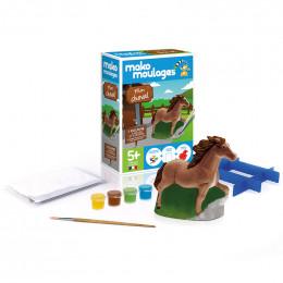 Figuurtjes om te gieten en te versieren - Mijn paardje - vanaf 5 jaar