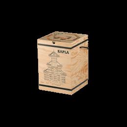 Houten Koffertje - 280 blokken + 1 kunst boek
