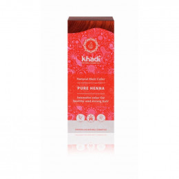 Permanente haarkleuring - rood - pure henna - 100 g