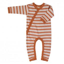 Kimono pyjama - Breton stripe sienna