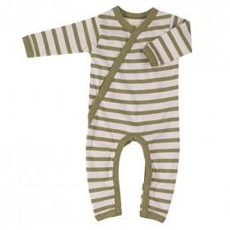 Kimono pyjama - Breton stripe olive