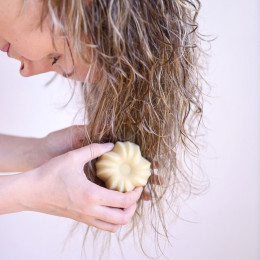 Solide shampoo - Droog haar - Vanilla Coconut