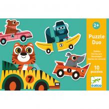 Duo puzzel - Race auto's