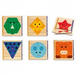 Houten puzzels - Basic