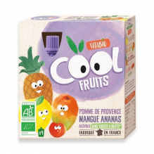 CoolFruit's: Appel-Mango-Ananas 4 pack