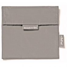 Afwasbaar en herbruikbaar snackzakje - Snack'n'Go - Active Grey
