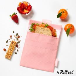 Afwasbaar en herbruikbaar snackzakje - Snack'n'Go - Active Pink