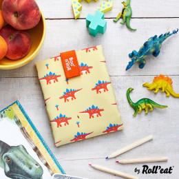 Herbruikbare en afwasbare foodwrap Boc'n'Roll - Kid Dinos