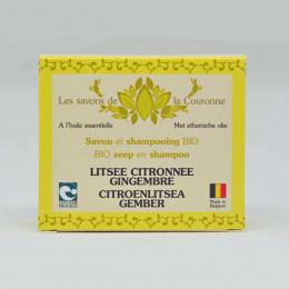 Citroenlitsea/Gemberzeep - 100 g