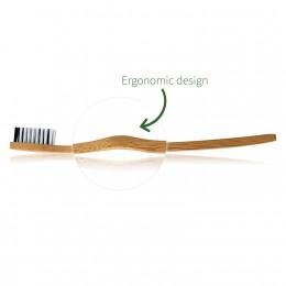 Bamboe tandenborstel (4 stuks) - zacht
