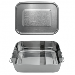 Lunch box Inox - Vagues - 1200 ml