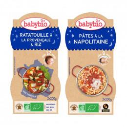 Babybio duo - Napolitaanse pasta & Ratatouille