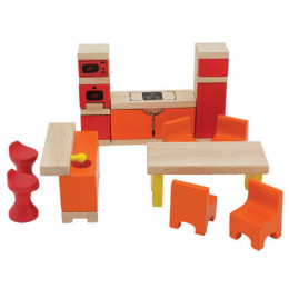 Pintoy - Dolls Kitchen & Dining Room