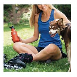 Gourde bouteille en inox  - 532 ml - Bouchon sport - Sierra sunset