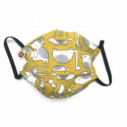 Masque buccal pour enfant - Dakar Grey