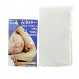 Mastrasbeschermer + Hoeslaken 2 in 1 voor babybed 40x80 cm - meerdere kleuren beschikbaar