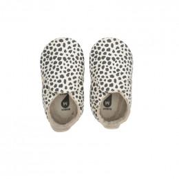Babyslofjes - 11146 - Dalmatien Print vanilla