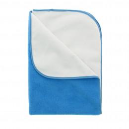 Wikkelkussen - blauw