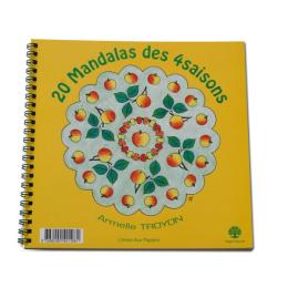 Mandalakleurboek - 4 Seizoenen - Voor groot en klein