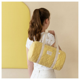 Mini weekendtas Los Angeles - Sunny yellow