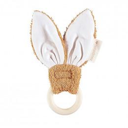 Bijtring - Bunny - Caramel