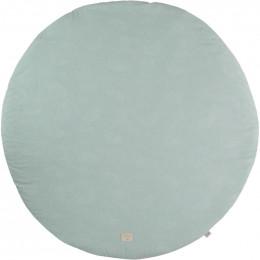 Speeltapijt Full Moon - White bubble & Aqua - small