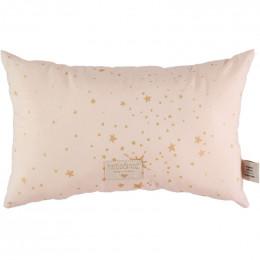 Kussentje Laurel - Gold stella & Dream pink