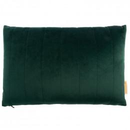 Kussen Akamba velvet 45x30 cm - Jungle green