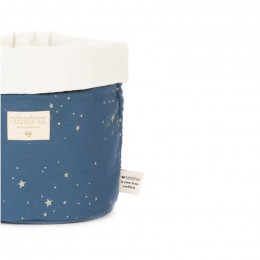 Mandje Panda - Gold stella & Night blue - small
