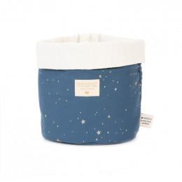 Mandje Panda - Gold stella & Night blue - medium